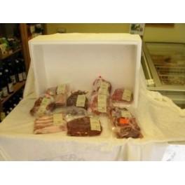 14-dagespakke okse- og svinekød