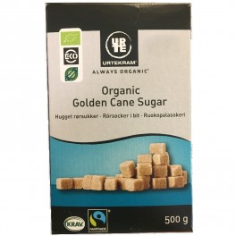 Hugget Rørsukker Organic