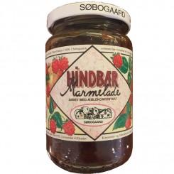 Hindbær Marmelade Søbogaard sødet m/æble
