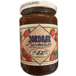 Jordbær Marmelade Søbogaard sødet m/æble