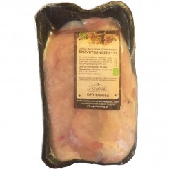 Øko Skov Kyllinge bryst filetter i pakker med 2 stk. )
