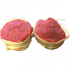 Tykstegsmedaljon m/bacon ca. 400 gr.