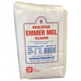 Emmer mel fuldkorn Bornholm 1 kg.