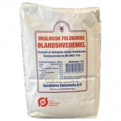 Ølandshvedemel Fuldkorns Bornholm 1 kg.