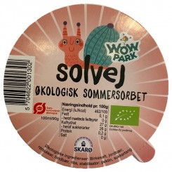 Solvej Sommersorbet 100 ml. 4 stk. 100.00 kr.