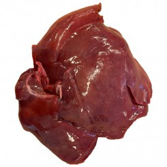 Øko Svine lever  hel ca. 2,2 kg.