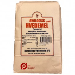 Hvedemel Ekstra Bornholm 2 kg.