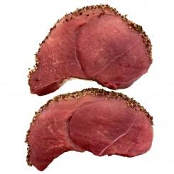 Skinkesteaks med peber 350 - 400 gr.