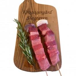 Grill Spyd af okse og gris
