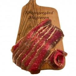 Okse bacon ca. 100 gr.
